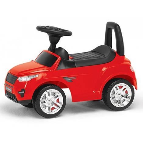 Детская машинка-каталка Range Rover, музыка, свет красная, 881663 (2-006)