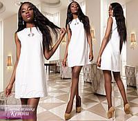 Платье-туника Кетти белый