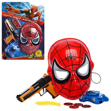 Набор супергероя: маска, пистолет, дискомет, диски, 210-2