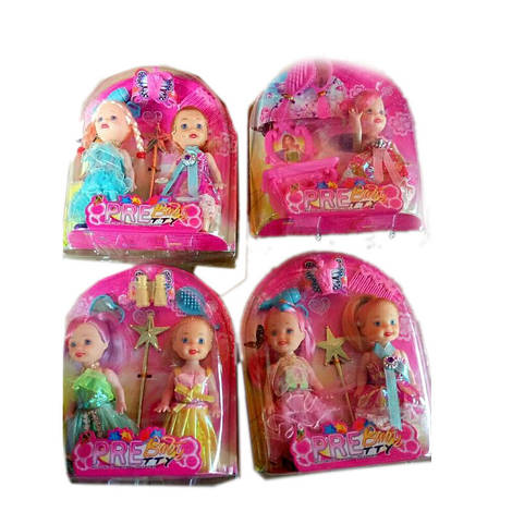 Кукла маленькая с аксессуарами, 3 вида микс, 3301-17