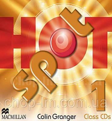 Hot Spot 1 Class Audio CDs (Аудирование к курсу)