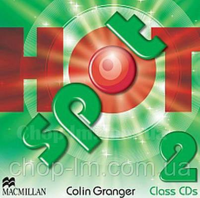 Hot Spot 2 Class Audio CDs (Аудирование к курсу)