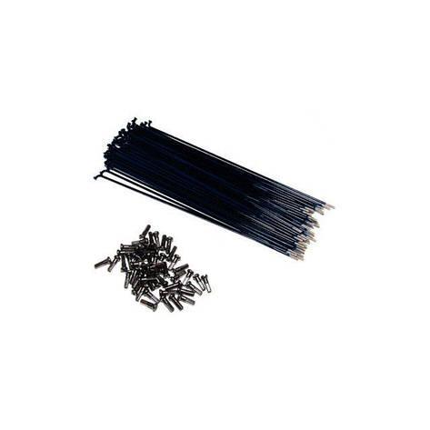 Спица Primo Forged (29-620) 182мм, 50шт, black nipples, черные, фото 2
