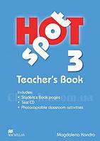 Hot Spot 3 Teacher's Book + Test CD (книга для учителя)