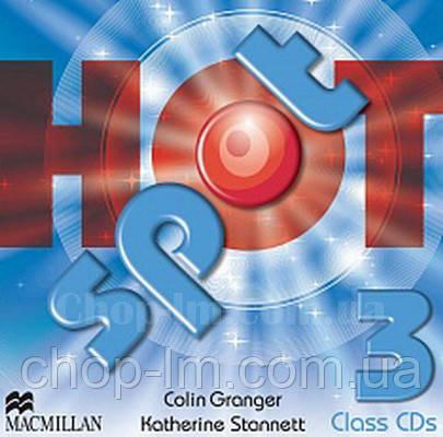 Hot Spot 3 Class Audio CDs (Аудирование к курсу)