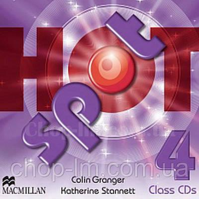 Hot Spot 4 Class Audio CDs (Аудирование к курсу)