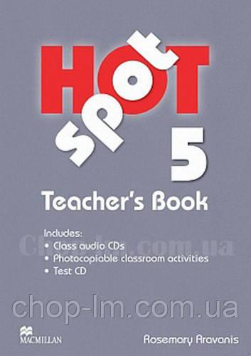 Hot Spot 5 Teacher's Book + Test CD (книга для учителя)