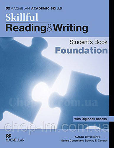 Skillful Reading and Writing Student's Book + Digibook foundation (Учебник + цифровая версия, A1)