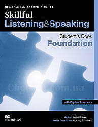 Skillful Listening and Speaking Student's Book + Digibook foundation (Учебник + аудирование + цифр. версия A1)