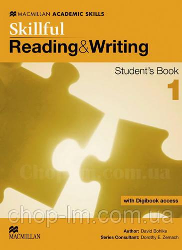 Skillful Reading and Writing Level 1 Student's Book + Digibook (Учебник по чтению + цифровая версия, A2)