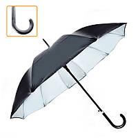 Зонт-трость полуавтомат мужской, 10537