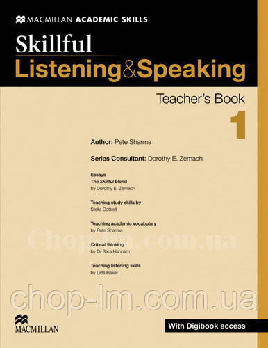 Skillful Listening and Speaking Level 1 Teacher's Book + Digibook (Книга для учителя + цифровая версия, A2)