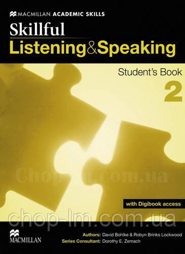 Skillful Listening and Speaking Level 2 Student's Book + Digibook (Учебник + цифровая версия, B1)
