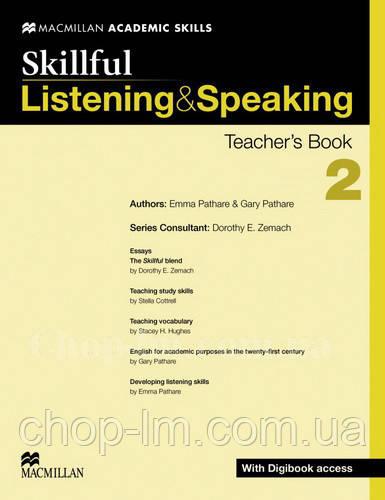 Skillful Listening and Speaking Level 2 Teacher's Book + Digibook (Книга для учителя + цифровая версия, B1)
