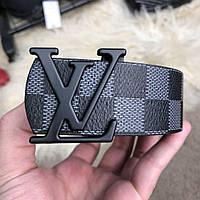 Ремень Louis Vuitton Initiales 40MM Black Damier Graphite