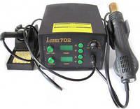 Термовоздушная паяльная станция Lukey 702  (фен и паяльник)