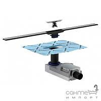 Комплект дренажного канала с сифоном и крышкой 90-200мм Geberit CleanLine 154.150.00.1 154.450.KS.1 хром/матовый