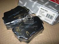 Колодки тормозные дисковые RENAULT TRAFIC, OPEL VIVARO 01- задние Гарантия