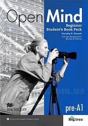 Open Mind Beginner Student's Book Pack (учебник, уровень pre-A1)