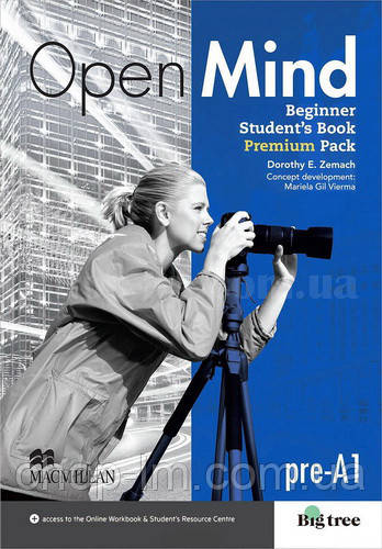 Open Mind Beginner Student's Book Premium Pack (учебник с онлайн рабочей тетрадью, уровень pre-A1)