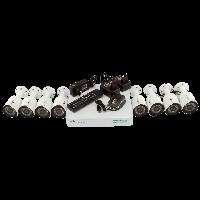 Комплект 8 наружных AHD камер, 1 Mp, HD - Green Vision GV-K-G03/08 720Р