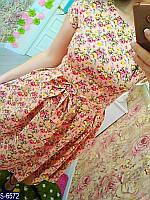 Платье S-6572 (48, 50) — купить Платья XL+ оптом и в розницу в одессе 7км
