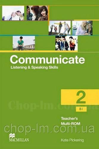 Communicate Level 2 Teacher's Multi-ROM (книга для учителя с мультиромом, уровень второй)