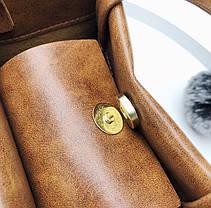 Милі жіночі сумочки з помпоном і краваткою, фото 3