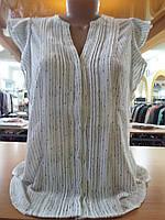 Блузка женская белая в полоску H&M