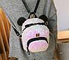 Городской рюкзак с пайетками и ушками медвежонка, фото 6