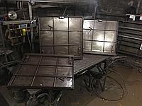 Ревизионный люк для пола под плитку750/750