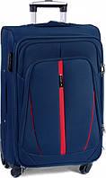 Чемодан сумка Suitcase (средний) 4 колеса синий, фото 1