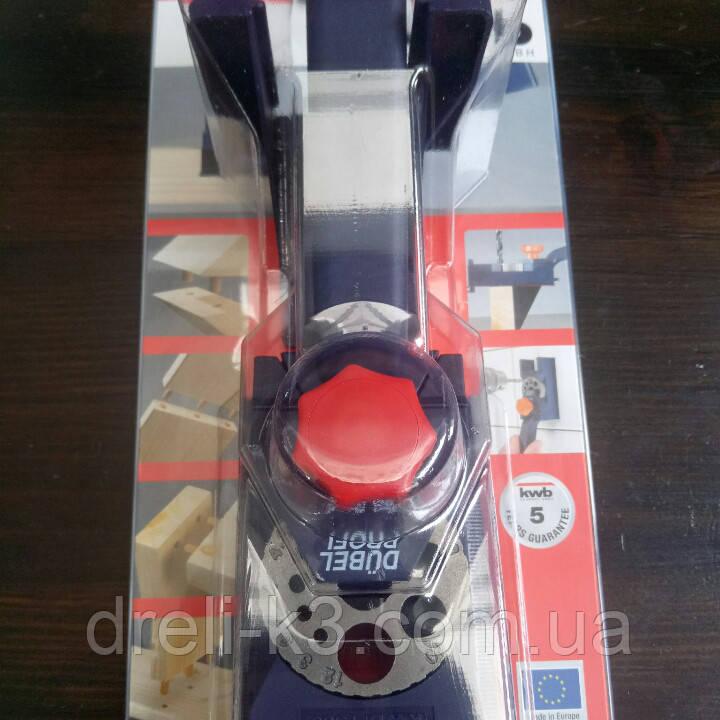 Кондуктор для сверления отверстий 3-12 мм КWB DUBELPROFI 758000 - фото 2
