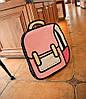 Оригинальные 2Д 2D рюкзаки, фото 3