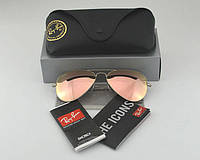 Женские солнцезащитные очки в стиле RAY BAN aviator 3025,3026 (019/Z2) Lux