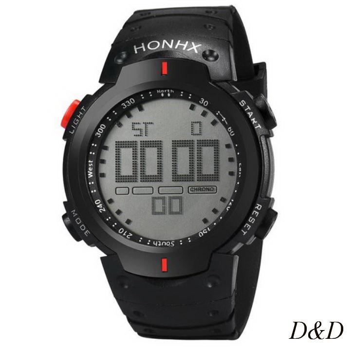 Часы мужские спортивные OTOKY черно-красные