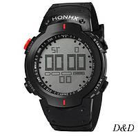 Часы мужские спортивные OTOKY черно-красные, фото 1