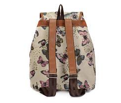 Милые вместительные женские тканевые рюкзаки , фото 2