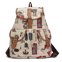 Милые вместительные женские тканевые рюкзаки от интернет-магазина ... 5fdc89ea490