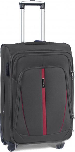 Чемодан сумка Suitcase (средний) 4 колеса серый