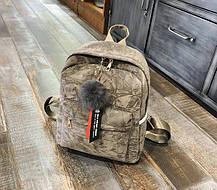 Милые бархатные рюкзаки в узор, фото 3