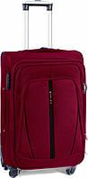 Валіза сумка Suitcase (невеликий) 4 колеса бордовий