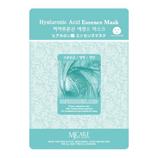 Тканевая маска для лица с гиалуроновой кислотой MJ CARE Hyaluronic Acid Essence Mask - 23 г