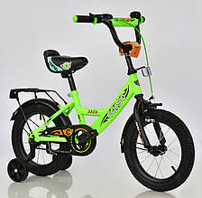 """Детский велосипед 14"""" с доп.колесами Corso С14890"""