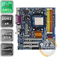 Материнская плата Asrock ALiveNF7G-FullHD (AM2+/nForce 630A/4xDDR2) б/у