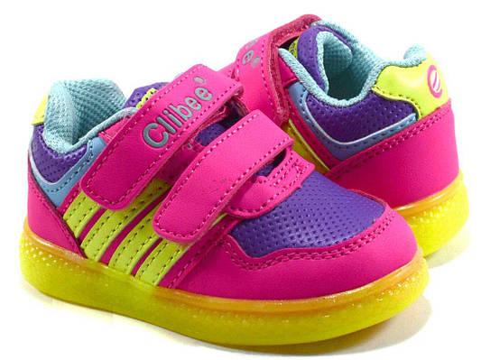 Купити Led кросівки на дівчинку Clibee в