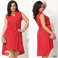 Платье на пуговицах 9851, фото 1