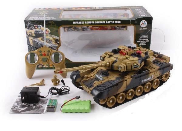 Танк на радиоуправлении 9995 M1 Abrams 1:16