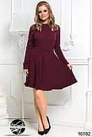 Платье с клешеной юбкой, фото 1