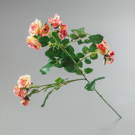 Искусственный букет розовой камелии., фото 2